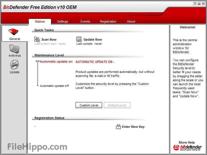 BitDefender Free Edition - Download-Software.dk